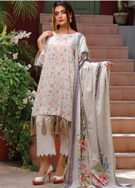 Malhar Printed Lawn Unstitched 3 Piece Suit ML20D 225-B - Spring / Summer Collection