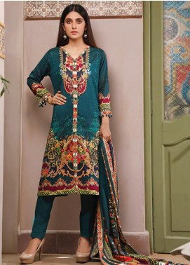 Malhar Printed Lawn Unstitched 3 Piece Suit ML20D 227-B - Spring / Summer Collection