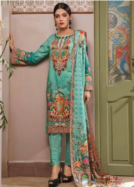 Malhar Printed Lawn Unstitched 3 Piece Suit ML20D 228-B - Spring / Summer Collection