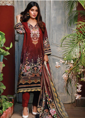 Malhar Printed Lawn Unstitched 3 Piece Suit ML20D 230-A - Spring / Summer Collection