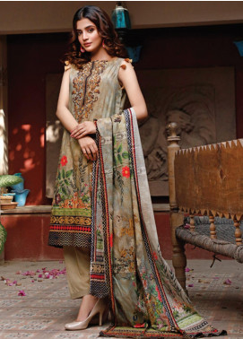 Malhar Printed Lawn Unstitched 3 Piece Suit ML20D 231-A - Spring / Summer Collection