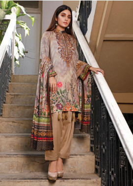 Malhar Printed Lawn Unstitched 3 Piece Suit ML20D 231-B - Spring / Summer Collection