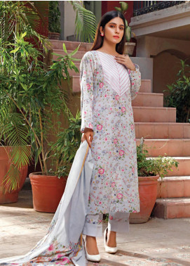Malhar Printed Lawn Unstitched 3 Piece Suit ML20D 232-B - Spring / Summer Collection