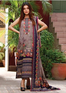 Malhar Printed Lawn Unstitched 3 Piece Suit ML20D 233-B - Spring / Summer Collection