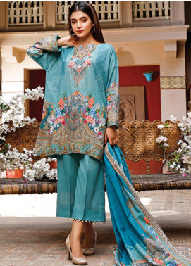 Malhar Printed Lawn Unstitched 3 Piece Suit ML20D 236-A - Spring / Summer Collection