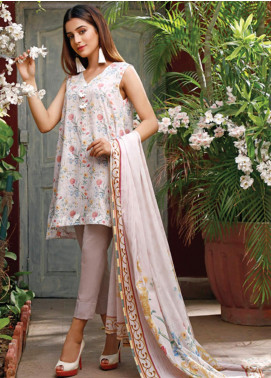 Malhar Printed Lawn Unstitched 3 Piece Suit ML20D 238-A - Spring / Summer Collection