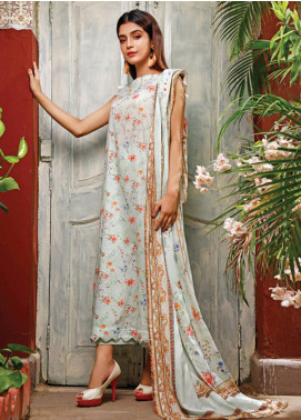 Malhar Printed Lawn Unstitched 3 Piece Suit ML20D 239-A - Spring / Summer Collection
