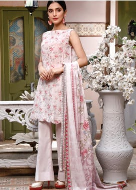 Malhar Printed Lawn Unstitched 3 Piece Suit ML20D 240-A - Spring / Summer Collection