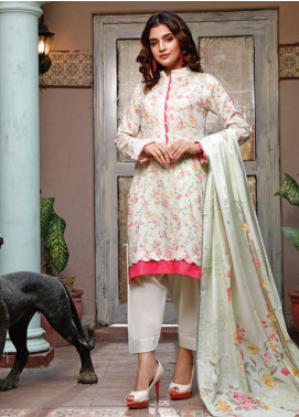 Malhar Printed Lawn Unstitched 3 Piece Suit ML20D 241-A - Spring / Summer Collection
