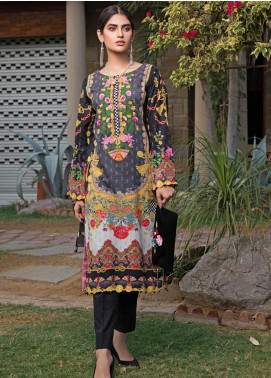 Malhar Florence Embroidered Lawn Unstitched Kurties MLF19K 03 - Mid Summer Collection