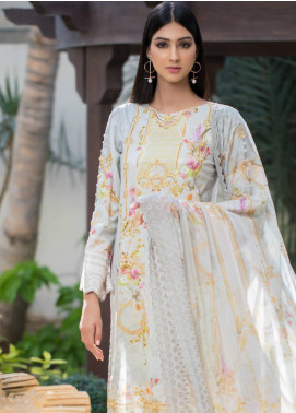 Malhar Embroidered Schiffli Unstitched 3 Piece Suit ML19SC 03 - Spring / Summer Collection