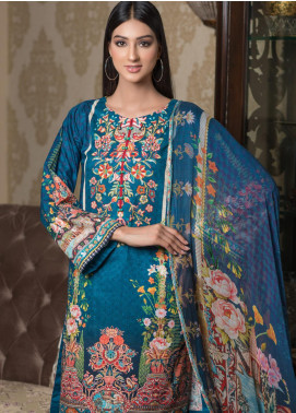 Malhar Embroidered Schiffli Unstitched 3 Piece Suit ML19SC 10 - Spring / Summer Collection