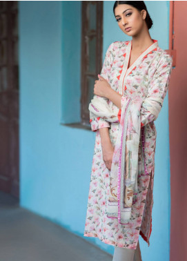 Malhar Printed Lawn Unstitched 3 Piece Suit ML19BL 7B - Spring / Summer Collection