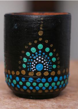 Mandala Art by K Antique  Pen Holder  MNA20 M-15 - Home & Decor Art Collection