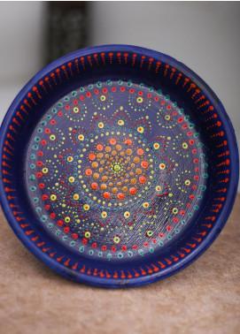 Mandala Art by K Antique  Platter  MNA20 M-16 - Home & Decor Art Collection