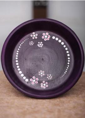 Mandala Art by K Antique  Platter  MNA20 M-17 - Home & Decor Art Collection