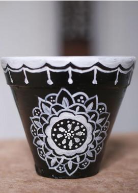Mandala Art by K Antique  Pot  MNA20 M-6 - Home & Decor Art Collection