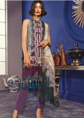 Maria B Embroidered Khaddar Unstitched 2 Piece Suit MBP19WE 7011 B - Winter Collection