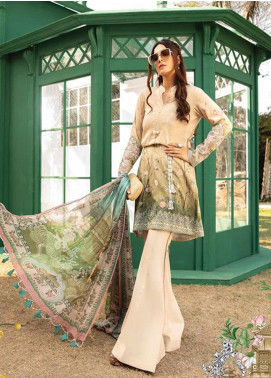 Maria B Maria B Lawn 2020 Chiffon Suits Collection Maria B Embroidered Luxury Lawn 2020 Online Store