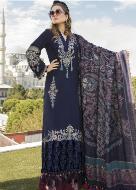 Maria B Embroidered Linen Unstitched 3 Piece Suit MB20WL DL-811 - Winter Collection