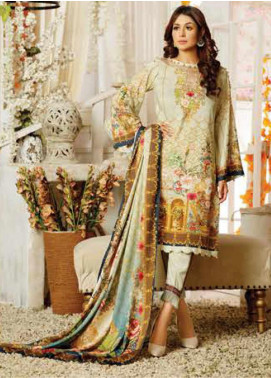 Maria by Five Star Printed Lawn Unstitched 3 Piece Suit FS20M 163 - Summer Collection