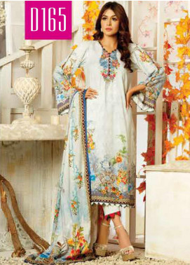 Maria by Five Star Printed Lawn Unstitched 3 Piece Suit FS20M 165 - Summer Collection