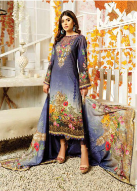 Maria by Five Star Printed Lawn Unstitched 3 Piece Suit FS20M 166 - Summer Collection