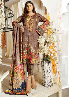 Maria by Five Star Printed Lawn Unstitched 3 Piece Suit FS20M 168 - Summer Collection