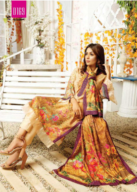 Maria by Five Star Printed Lawn Unstitched 3 Piece Suit FS20M 169 - Summer Collection