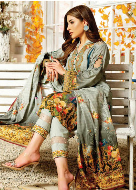 Maria by Five Star Printed Lawn Unstitched 3 Piece Suit FS20M 170 - Summer Collection