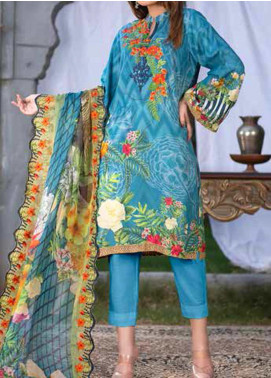 Maria by Zebaish Embroidered Karandi Unstitched 3 Piece Suit ZSH20M 02 - Winter Collection