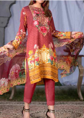 Maria by Zebaish Embroidered Karandi Unstitched 3 Piece Suit ZSH20M 04 - Winter Collection