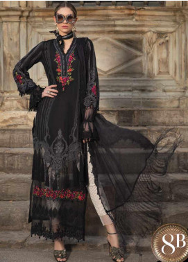 Maria B Embroidered Lawn Unstitched 3 Piece Suit MB20SV 2008 B - Spring / Summer Collection