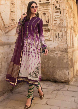 Maria B Embroidered Lawn Unstitched 3 Piece Suit MB20SV 2009 B - Spring / Summer Collection