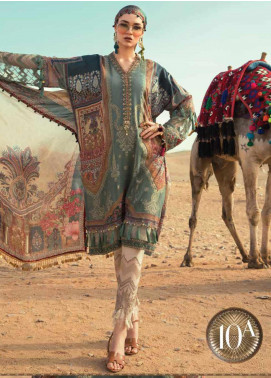 Maria B Embroidered Lawn Unstitched 3 Piece Suit MB20SV 2010 A - Spring / Summer Collection