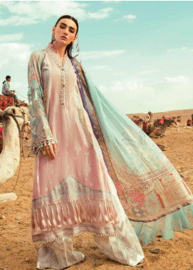 Maria B Embroidered Lawn Unstitched 3 Piece Suit MB20SV 2010 B - Spring / Summer Collection
