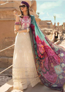 Maria B Embroidered Lawn Unstitched 3 Piece Suit MB20SV 2011 A - Spring / Summer Collection
