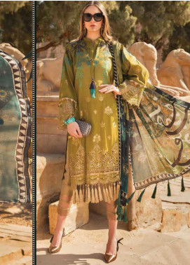 Maria B Embroidered Lawn Unstitched 3 Piece Suit MB20SV 2011 B - Spring / Summer Collection