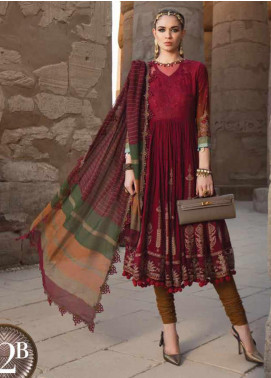 Maria B Embroidered Lawn Unstitched 3 Piece Suit MB20SV 2012 B - Spring / Summer Collection