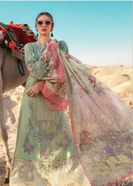 Maria B Embroidered Jacquard Unstitched 3 Piece Suit MB20SV 2013 A - Spring / Summer Collection