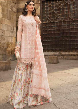 Maria B Embroidered Lawn Unstitched 3 Piece Suit MB20SV 2015 B - Spring / Summer Collection