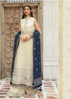 Maria B Embroidered Organza Unstitched 3 Piece Suit MR20E D-6 - Eid Collection