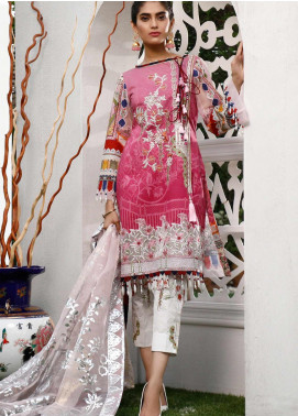 Marjaan by Sifona Embroidered Lawn Unstitched 3 Piece Suit MJ20SF 01 - Luxury Collection