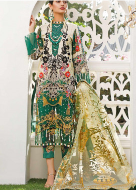 Marjaan by Sifona Embroidered Lawn Unstitched 3 Piece Suit MJ20SF 03 - Luxury Collection