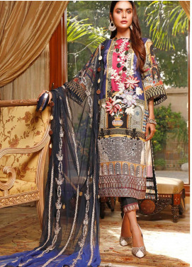 Marjaan by Sifona Embroidered Lawn Unstitched 3 Piece Suit MJ20SF 04 - Luxury Collection