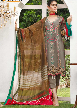 Marjaan by Sifona Embroidered Lawn Unstitched 3 Piece Suit MJ20SF 06 - Luxury Collection