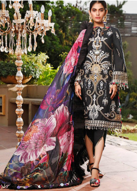 Marjaan by Sifona Embroidered Lawn Unstitched 3 Piece Suit MJ20SF 10 - Luxury Collection