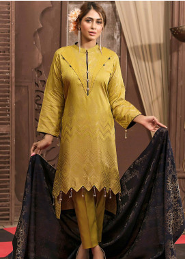 Marlene by Riaz Arts Banarsi Viscose Unstitched 3 Piece Suit RA20MR DRA-181 - Festive Collection