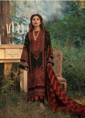 Maryam Hussain Embroidered Karandi Unstitched 3 Piece Suit MRH20W 01 NAPOLI - Winter Collection