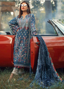 Maryam Hussain Embroidered Khaddar Unstitched 3 Piece Suit MRH20W 05 TRIBAL - Winter Collection